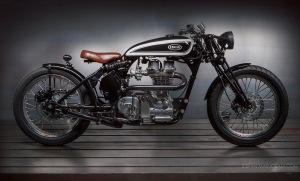 Hollis Type 'A' 350cc Side View